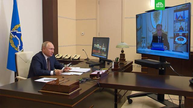 Путин назвал поспешным вывод войск западной коалиции из Афганистана.НТВ.Ru: новости, видео, программы телеканала НТВ