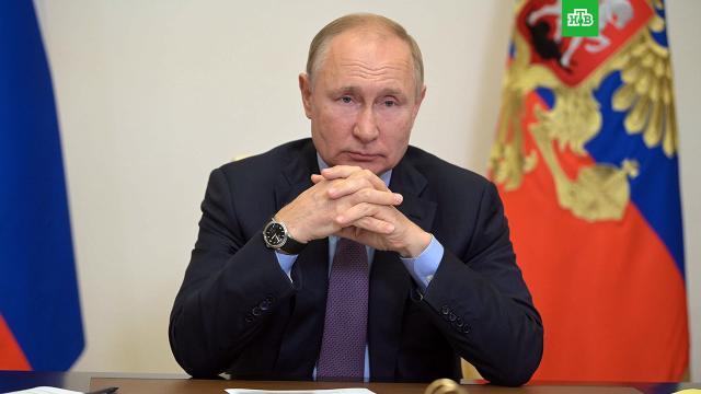 Песков: Путин проведет на самоизоляции как минимум неделю.Песков, Путин, болезни, здоровье, коронавирус.НТВ.Ru: новости, видео, программы телеканала НТВ