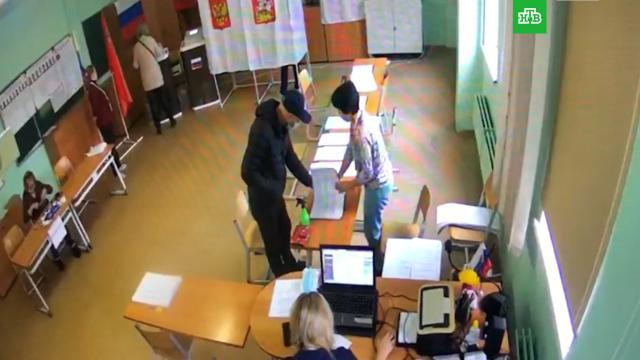 На избирательном участке вБалашихе, где подозревают вброс, приостановили работу комиссии.Госдума, Московская область, выборы.НТВ.Ru: новости, видео, программы телеканала НТВ