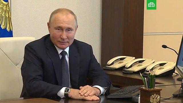 Путин принял участие вэлектронном голосовании.выборы, Госдума, Михаил Мишустин, Путин.НТВ.Ru: новости, видео, программы телеканала НТВ