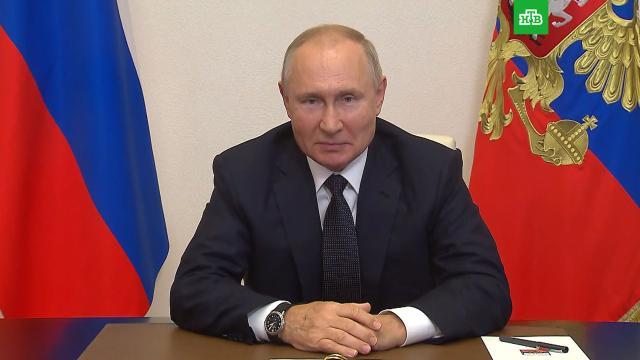 Путин призвал не забывать вовремя ревакцинироваться.Путин, вакцинация, коронавирус, эпидемия.НТВ.Ru: новости, видео, программы телеканала НТВ
