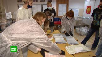 На Дальнем Востоке идет подсчет голосов.НТВ.Ru: новости, видео, программы телеканала НТВ