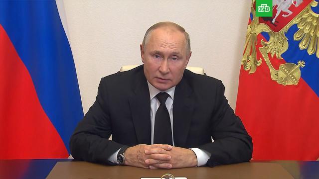 Путин после выборов поблагодарил россиян за доверие и активную жизненную позицию.Госдума, выборы, Путин.НТВ.Ru: новости, видео, программы телеканала НТВ