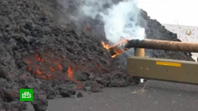 Извержение вулкана на Канарах: море вокруг острова Пальма объявили закрытой зоной.Испания, Канарские острова, вулканы.НТВ.Ru: новости, видео, программы телеканала НТВ