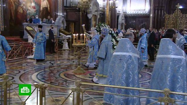 Православные верующие отмечают Рождество Пресвятой Богородицы.православие, религия, торжества и праздники.НТВ.Ru: новости, видео, программы телеканала НТВ