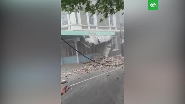 Мощное землетрясение вызвало разрушения на юго-востоке Австралии.Австралия, землетрясения, стихийные бедствия.НТВ.Ru: новости, видео, программы телеканала НТВ