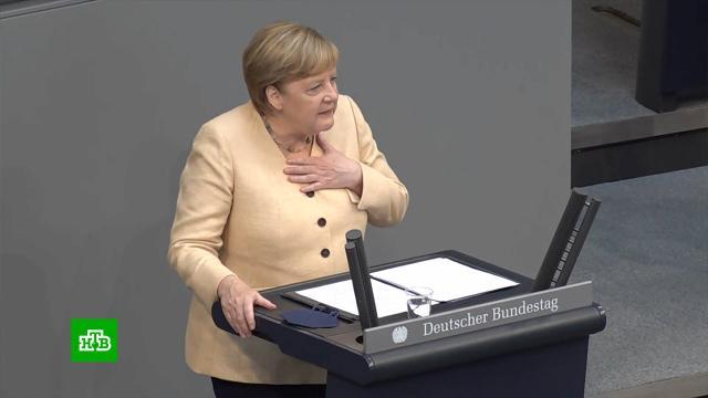 Покидающая пост канцлера Меркель пытается спасти свою партию от катастрофы.Германия, Меркель, выборы, парламенты.НТВ.Ru: новости, видео, программы телеканала НТВ