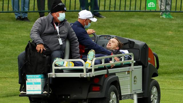 Звезда «Гарри Поттера» потерял сознание на матче по гольфу.Британский актер Том Фелтон, известный по роли Драко Малфоя в серии фильмов о Гарри Поттере, был госпитализирован.США, артисты, знаменитости.НТВ.Ru: новости, видео, программы телеканала НТВ