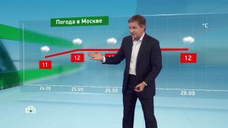 Утренний прогноз погоды на 24сентября.НТВ.Ru: новости, видео, программы телеканала НТВ