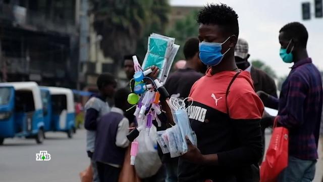 Загадка для ученых: почему вАфрике меньше заражаются иумирают от COVID-19.Африка, Эфиопия, коронавирус, эпидемия.НТВ.Ru: новости, видео, программы телеканала НТВ