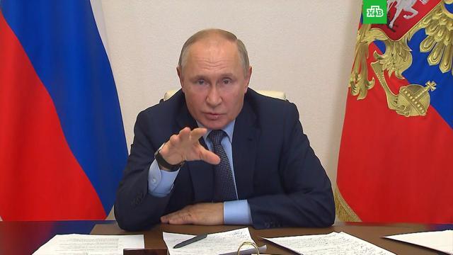 «Кому-то не понравился результат»: Путин— опретензиях конлайн-голосованию.Госдума, Путин, выборы.НТВ.Ru: новости, видео, программы телеканала НТВ