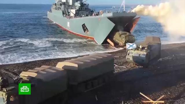 Северный флот провел тактические учения вморе Лаптевых.армия и флот РФ, учения.НТВ.Ru: новости, видео, программы телеканала НТВ