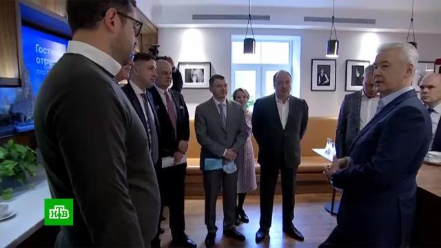 До конца года вМоскве откроют семь новых гостиниц.Москва, Собянин Сергей, отели и гостиницы, туризм и путешествия.НТВ.Ru: новости, видео, программы телеканала НТВ