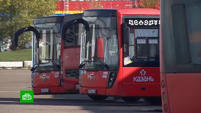 Автопарки ипассажиры вКазани опасаются простоя автобусов <nobr>из-за</nobr> отсутствия страховки