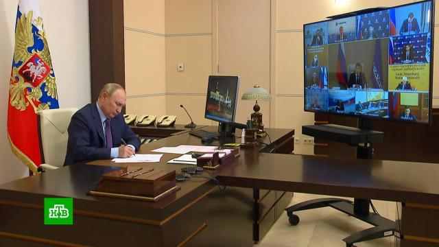 Путин одобрил идею сбить спекулятивный спрос на газ вЕвропе