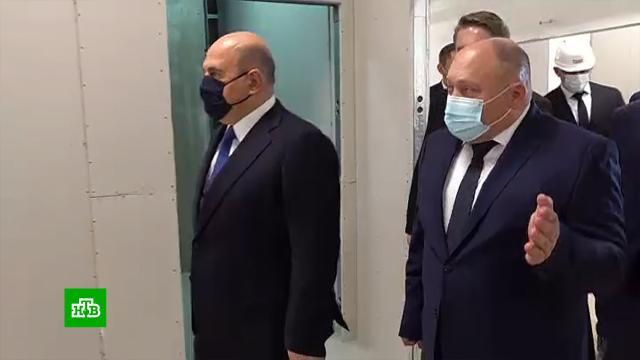 Почти 1,4млрд рублей выделено на достройку инфекционного корпуса больницы вКурске