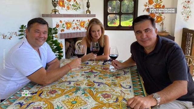 Саакашвили в тюрьме встретился с любовницей из Верховной рады.Грузия, Саакашвили, Украина.НТВ.Ru: новости, видео, программы телеканала НТВ