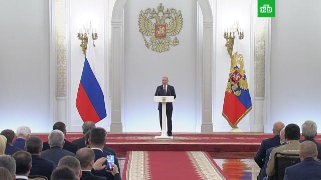 Путин поручил разработать новые меры соцподдержки россиян.Госдума, Путин, дети и подростки, семья.НТВ.Ru: новости, видео, программы телеканала НТВ