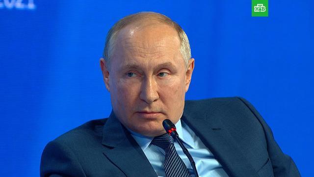 Путин заявил, что не заразился COVID-19 благодаря «СпутникуV».коронавирус, Путин, эпидемия.НТВ.Ru: новости, видео, программы телеканала НТВ