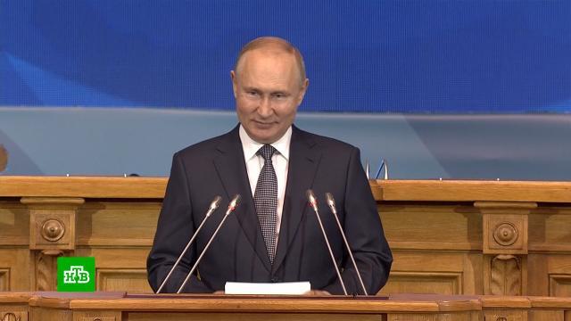 Путин назвал традиционные семейные ценности залогом успешного развития.Путин, женщины, наука и открытия, семья.НТВ.Ru: новости, видео, программы телеканала НТВ