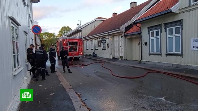 Норвежская полиция признала терактом нападение с луком на прохожих.Норвегия, терроризм.НТВ.Ru: новости, видео, программы телеканала НТВ