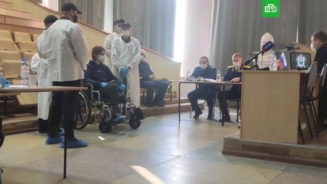 Устроившего стрельбу в пермском вузе студента привезли в суд на коляске.Пермь, вузы, стрельба, убийства и покушения.НТВ.Ru: новости, видео, программы телеканала НТВ
