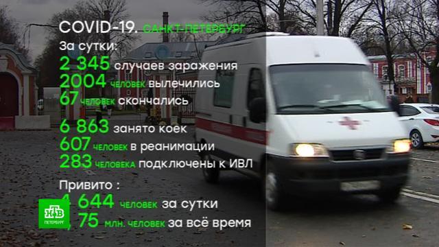 ВПетербурге— рекорд по госпитализации сковидом.Санкт-Петербург, здравоохранение, коронавирус, медицина, прививки, эпидемия.НТВ.Ru: новости, видео, программы телеканала НТВ