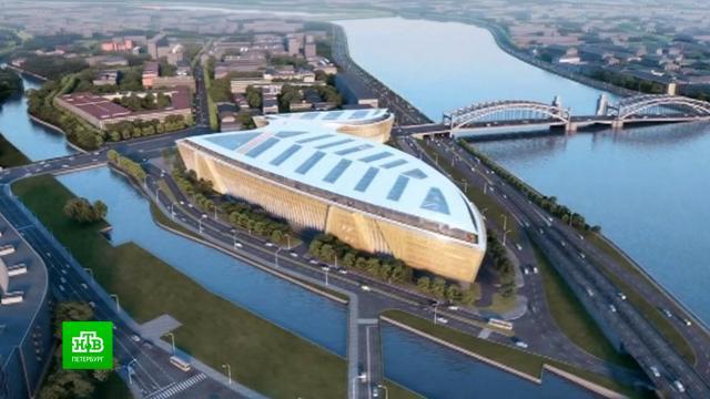 Японские архитекторы показали, как преобразят Охтинский мыс.Газпром нефть, Санкт-Петербург, архитектура.НТВ.Ru: новости, видео, программы телеканала НТВ