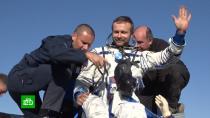 Рогозин оценил возвращение «киноэкипажа» с МКС на отлично.МКС, кино, космонавтика, космос.НТВ.Ru: новости, видео, программы телеканала НТВ