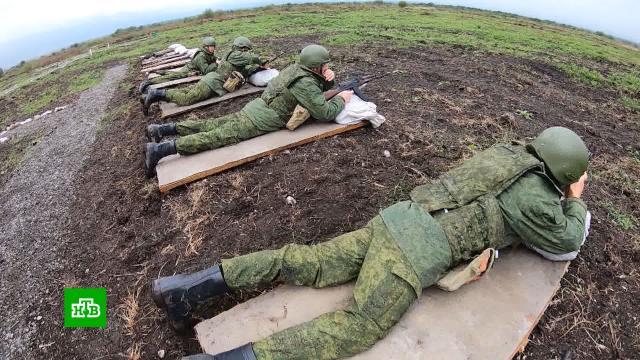 Операция «БАРС»: боевой армейский резерв проходит переподготовку.В Северной Осетии создали полевой лагерь для подготовки боевого армейского резерва. Ускоренный курс переподготовки там проходят бывшие военнослужащие. Участие добровольное. На то, чтобы вспомнить навыки, дают три дня. При этом за часы, проведенные в лагере, резервисты получат выплаты. .Минобороны РФ, Северная Осетия, армия и флот РФ.НТВ.Ru: новости, видео, программы телеканала НТВ