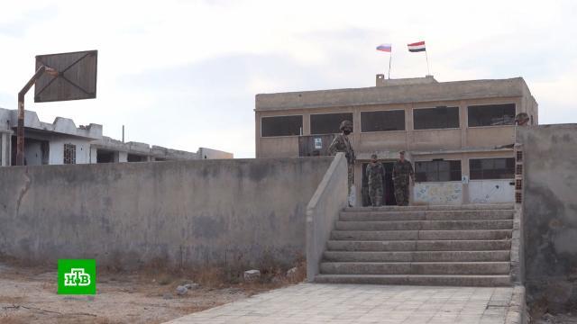 Российские военные помогают вывозить сирийцев из контролируемых боевиками районов