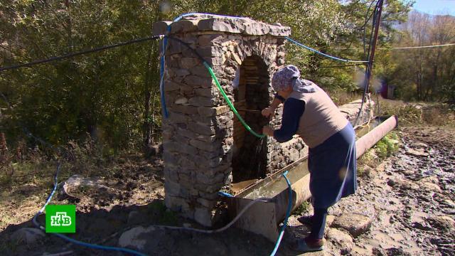 Дагестанские села столкнулись с острой нехваткой питьевой воды.Дагестан, засуха, реки и озера, экология.НТВ.Ru: новости, видео, программы телеканала НТВ