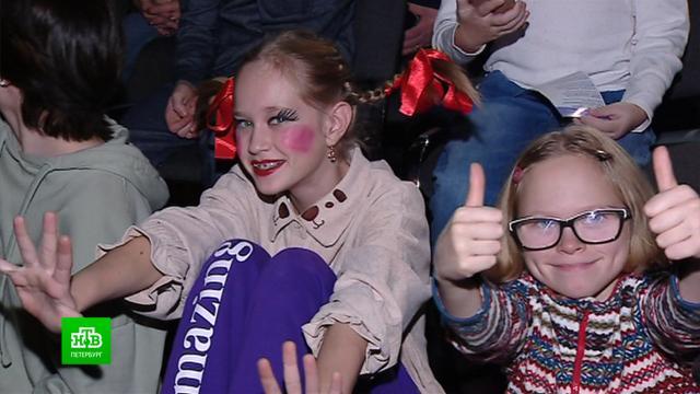 Юные артисты покоряют сцену на новом фестивале «Б'ART'O».Санкт-Петербург, дети и подростки, театр, фестивали и конкурсы.НТВ.Ru: новости, видео, программы телеканала НТВ