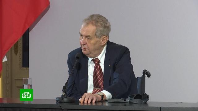 В Чехии начали расследование против администрации президента.Чехия, расследование.НТВ.Ru: новости, видео, программы телеканала НТВ