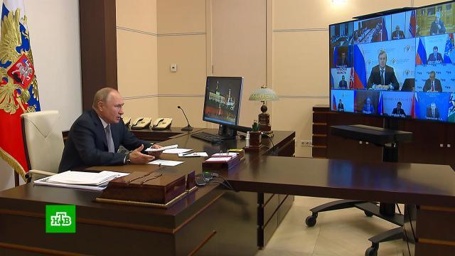 Путин: новая транспортная стратегия должна учитывать интересы бизнеса играждан.Минтранс РФ, Путин, авиация, железные дороги, поезда.НТВ.Ru: новости, видео, программы телеканала НТВ