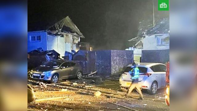 Взрыв в шотландском Эре: есть пострадавшие.Шотландия, взрывы газа.НТВ.Ru: новости, видео, программы телеканала НТВ