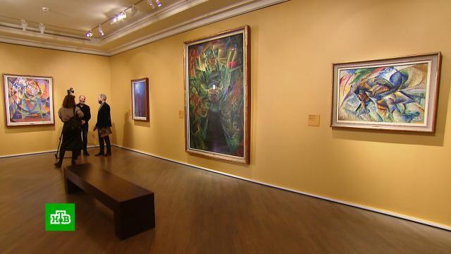 ВМоскве открылась выставка шедевров итальянских футуристов.Москва, выставки и музеи, живопись и художники, искусство.НТВ.Ru: новости, видео, программы телеканала НТВ