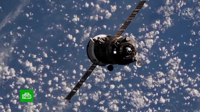 Грузовой «Прогресс» успешно перестыковали сМКС.МКС, космонавтика, космос.НТВ.Ru: новости, видео, программы телеканала НТВ