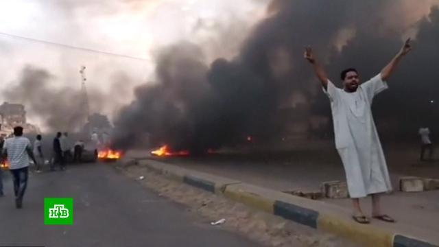 В Судане произошел военный переворот.Судан, перевороты.НТВ.Ru: новости, видео, программы телеканала НТВ