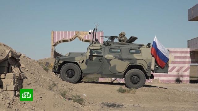 Российские военные разминировали стратегическую трассу на севере Сирии.Сирия, армии мира, армия и флот РФ, разминирование.НТВ.Ru: новости, видео, программы телеканала НТВ
