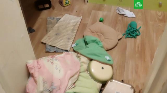 Видео из квартиры, в которой мать заперла четверых детей.Иркутская область, дети и подростки.НТВ.Ru: новости, видео, программы телеканала НТВ