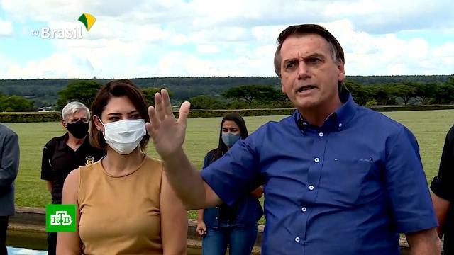 Президента Бразилии Болсонару обвинили вдевяти преступлениях во время пандемии.Бразилия, коронавирус, эпидемия.НТВ.Ru: новости, видео, программы телеканала НТВ