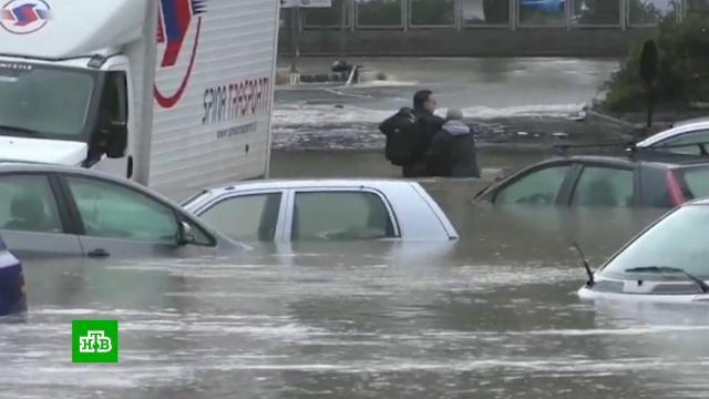На Сицилии подсчитывают ущерб от урагана.Италия, стихийные бедствия, штормы и ураганы.НТВ.Ru: новости, видео, программы телеканала НТВ
