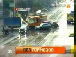 Выпуск от 22июня 2012года.Рейс вне расписания: бешеный трамвай ибезумный автобус.НТВ.Ru: новости, видео, программы телеканала НТВ