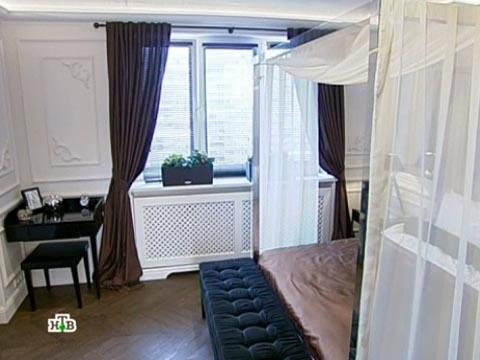 Выпуск от 30июня 2012года.Романтика вшоколаде: элегантная спальня для супружеской пары.НТВ.Ru: новости, видео, программы телеканала НТВ