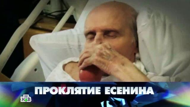 «Проклятие Есенина».«Проклятие Есенина».НТВ.Ru: новости, видео, программы телеканала НТВ