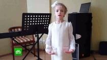 Участница проекта «Ты супер!» Сонечка Аллахвердиева читает стихи