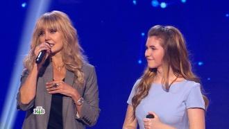 Саша Хлудова услышала «Ты супер!» от жюри, певицы Валерии исамого важного человека— родной мамы