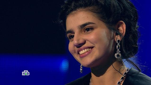 """«Сейчас перед нами """"Мисс Азербайджан""""!»: ослепительный образ исильное выступление Парваны очаровали жюри.НТВ.Ru: новости, видео, программы телеканала НТВ"""