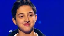 «Это достойно зеленой кнопки!»: жюри высоко оценило исполнение Костей одной из самых сложных песен Меладзе
